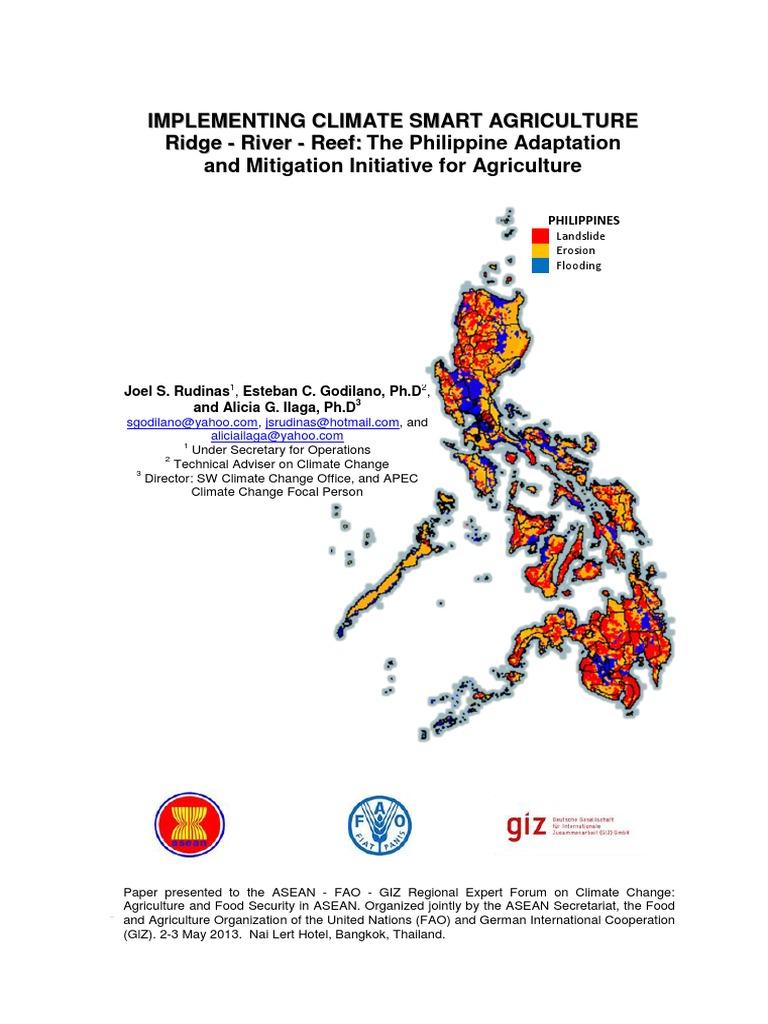 02-Philippine Paper GIZ Bangkok-1 | Agriculture | Climate Change