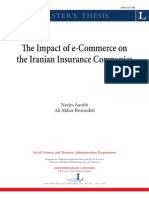 Feasibility Study of E-Insurance Services in Iranian Insurance Companies LTU-PB-EX-0603-SE