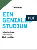 Ein Geniales Studium_ Schneller Lesen, A - Cortolezis, Nikolaus
