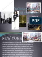 The 5 Fashion Capitals of the World New