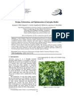 75-481-3-PB.design, Fabrication, And Optimization of Jatropha Sheller