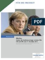 Mutlos. Analyse des Koalitionsvertrags zwischen CDU, CSU und SPD