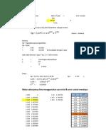 Perhitungan Pipa