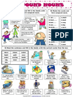 Compound Nouns First Worksheet
