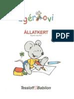 Egér ovi-Állatkert játékos feladatok óvodásoknak