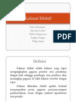 Presentasi Kalimat Efektif