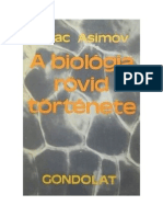 Asimov Isaac a Biologia Rovid Tortenete (A Short History of Biology)