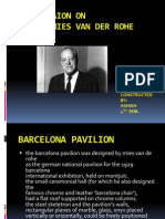 PRESENTAION on Architect Mies Van Der Rohe