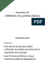 Jeremías 14-15 -16-17-18