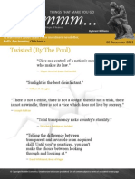 Things that make you go hmmm,,,Grant Williams, Dec 2, 2013. Twisted (By The Pool)-