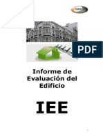 ÓVALO global services. Informe Evaluación Edificio IEE