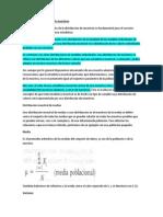 Concepto de distribución de muestreo