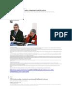 CIDH pide información sobre independencia de la justicia