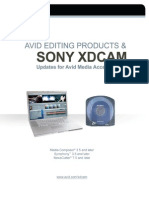 Sony XDCAM AMA Workflow Guide
