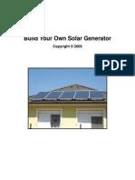 Build Your Own Solar Generator