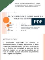 El Catastro en El Peru