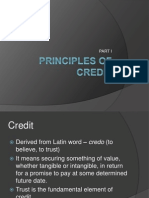 Principles of Credit