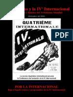 LIGA COMUNISTA de los TRABAJADORES (Argentina) - El Marxismo y la IVª Internacional - Trotskismo mundial (2010)