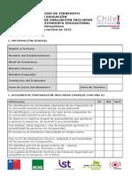Pauta Evaluacion Inclusiva Simulacro Sector Educacion Rm