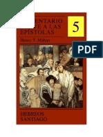 Comentario Breve a Las Epistolas - Volumen 5 - Hebreos y Santiago