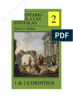 Comentario Breve a Las Epistolas, Volumen 2 - 1 & 2 Corintios