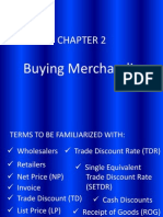 Chapter 2 - Buying Merchandise