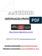 Apostila Agente Autonomo de Investimentos - ANCORD