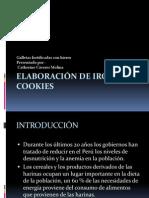 ELABORACIÓN DE IRON COOKIES