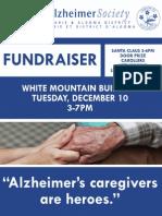 Alzheimer's Society Fundraiser