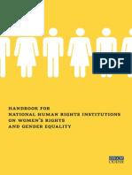 OSCE Handbook Gender Equality 2012