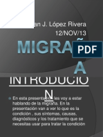 Power Point-MIGRAÑA