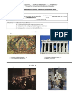 Examen Corregido Historia Del Arte