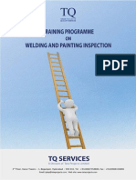 Welding and  Painting Training Brochure