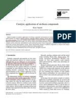 Catalytic Application of Niobium Compounds