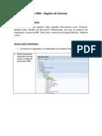 Cuentas por Pagar FB60 – Registro de Facturas