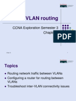 CISCO03 InterVLANrouting Presentation Lecture