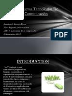 Las Nuevas Tecnologias De Comunicación