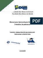 Manual DAS Normas ABNT. 2011