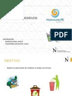 GESTIÓN DE RESIDUOS PARA  EST. HOSPEDAJES Y RESTAURANTES