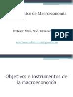 2 6 Objetivos e Instrumentos de La Macroeconomia (1)