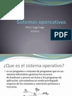 Sistemas opereativos