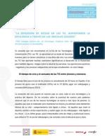 La dimensión de riesgo en las TIC. Aumentando la resiliencia a través de los vínculos seguros de Félix Loizaga.