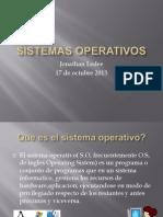Sistemas Operativos Jonathan