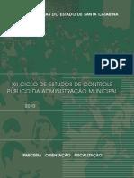 Controle Público da Administração Municipal