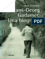 3451 Gadamer UnaBiografia Grondin