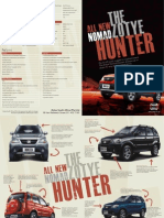 Zotye Hunter Brochure