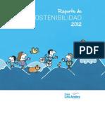 Caja Los Andes- Reporte de Sostenibilidad 2012