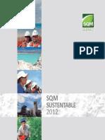 SQM Reporte Sustentabilidad 2012