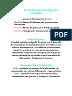 elaboracion de documentos digitales avanzados