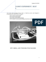 Experiment B - Heat Exchanger Worksheet